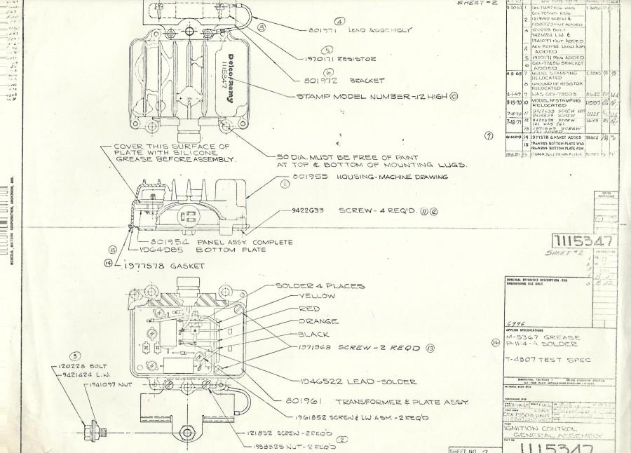 Turbine Igniter 1115347b